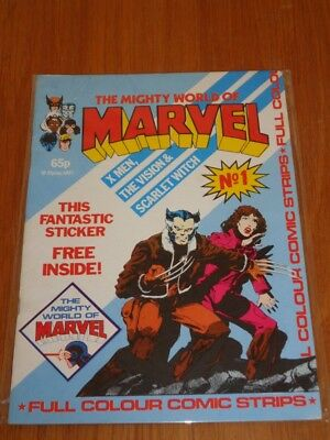 Mighty World Of Marvel Vol 2 #1 British Monthly June 1983 No Gift (B)^