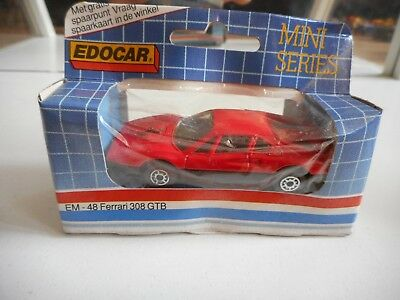 Edocar Ferrari 308 GTB in Red in Box
