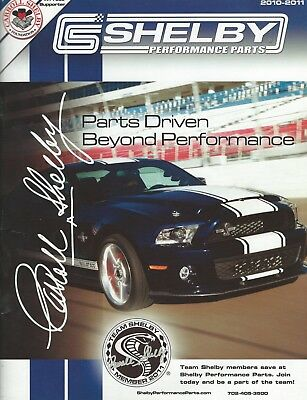 2010-11 Shelby performance Parts Catalog