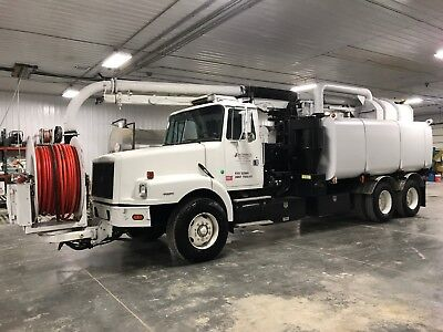 1999 Volvo Vac Truck Sewer Cleaner