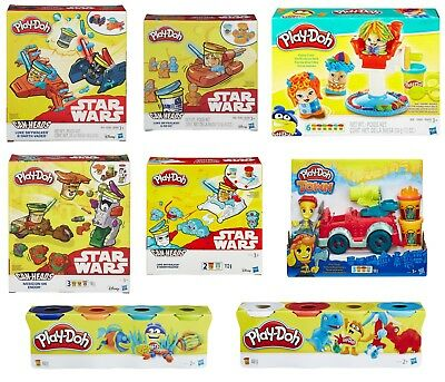 Play Doh Star Wars Canheads / Fire Truck / 4pk Tubs