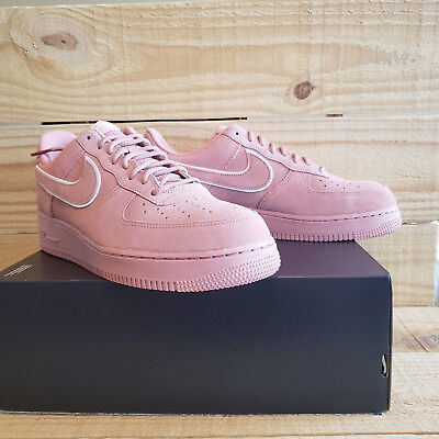 beafe7042cb80 Nike Air Force 1 07 lv8 Suede Pack Red Stardust Dragon Pink AA1117-601 Men