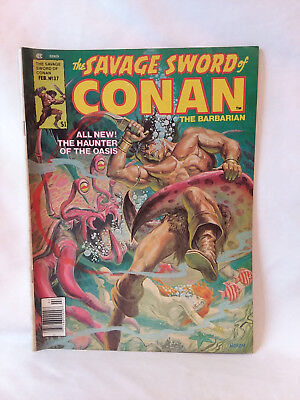 Marvel Comics Group magazine 1978, The Savage Sword of Conan #37, VG+