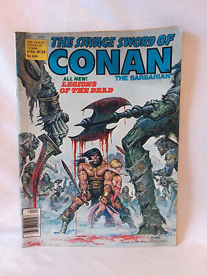 Marvel Comics Group magazine 1979, The Savage Sword of Conan #39, VG
