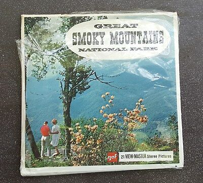 Great Smoky Mountains National Park Vintage View-Master Reel Pack A889 G1