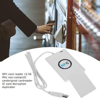 NFC ACR122U RFID Contactless Smart Reader & Writer USB 2.0 Copier + 5Pcs IC Card