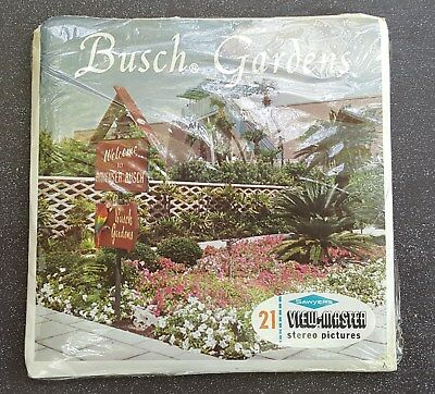 Busch Gardens Vintage View-Master Reel Pack A988 S6