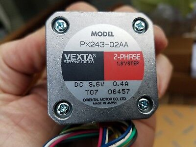 Oriental Motor Vexta PX243-02AA 2 Phase Stepper Motor - NEW