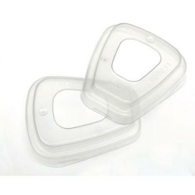 3M Filter Retainer Use With 3M 5000 Series Filters Clear Ref 501 [Pair]