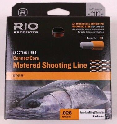 """Rio ConnectCore Metered Shooting Line .026/"""" 15lb"""