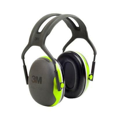Peltor X4 Headband Ear Defenders 27dB Green Ref X4A