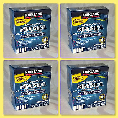 Kirkland Signature Hair Regrowth Extra Strength Men 5% Minoxidil 24 Month Supply