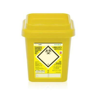 Click Medical Clinisafe Container 3Ltr Ref CM0639