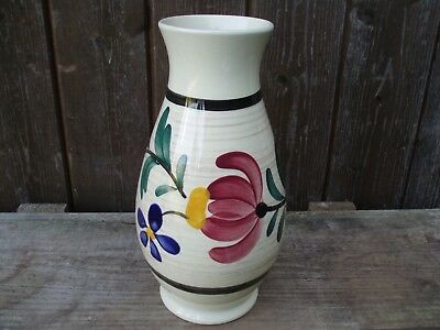 SCHEURICH Vase / Midcentury Vintage West German Pottery / sign 552 / size 25 cm