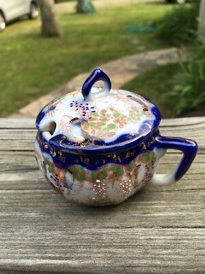 VTG/ Antique Mustard  Japanese  Porcelain Cup   Very Good Condition