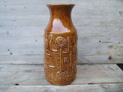 BAY Vase / Midcentury Vintage West-Germany Pottery / sign 594 / size 30 cm