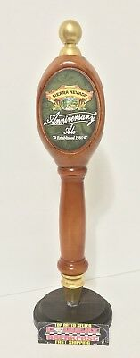 "Sierra Nevada Anniversary Ale Pub Style Beer Tap Handle 13"" Tall - Excellent!"