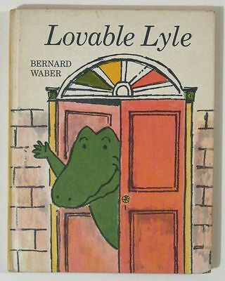 Vintage 1969 LOVABLE LYLE (the Crocodile) by Bernard WABER! Hardcover!