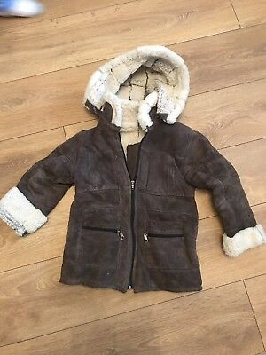 Brown Boys Real Weather Winter Jacket