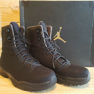 new product 66f92 1b6ca Nike Air Jordan Future Boot Water Proof Resistant Black 854554-002 Mens Size