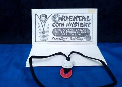 Vintage Byo Lot Oriental Coin Mystery Chinese Ez Magic Rare Collectible