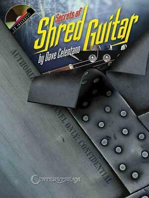 Secrets of Shred Guitar [With CD] by Dave Celentano (English) Paperback Book Fre