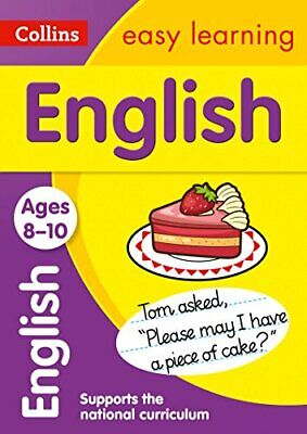 English Ages 8-10 (Collins Easy Learning KS2) by Collins Easy Learning Book The