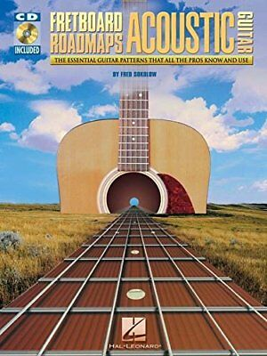 Fretboard Roadmaps Acoustic Guitar: The Essential Guitar Pat... by Sokolow, Fred