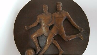 Olympic Games Berlin 1936 GERMAN SOCCER PLAYERS BRONZE STATUE