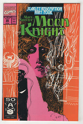 Marc Spector: Moon Knight #29 (Aug 1991 Marvel) [Scarlet Redemption] Sienkiewicz