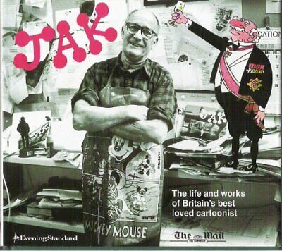 Jak: His Life and Work by Jak Hardback Book The Cheap Fast Free Post