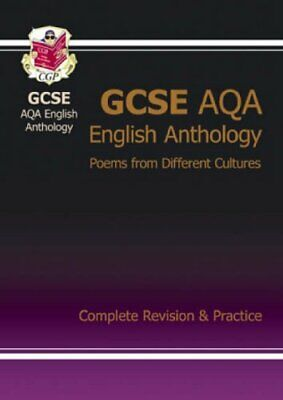 GCSE English AQA Anthology Complete Revision & Practice by CGP Books Paperback