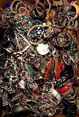 20 LBS Huge VTG -Now LOT Junk Drawer Jewelry UNSEARCHED Repurpose Craft Scrap #8