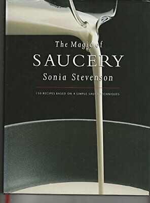The Magic Of Saucery by Stevenson, Sonia Book The Cheap Fast Free Post