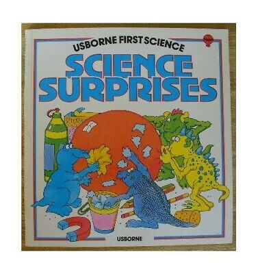 Science Surprises (Usborne First Science) by Waters, Gaby Paperback Book The