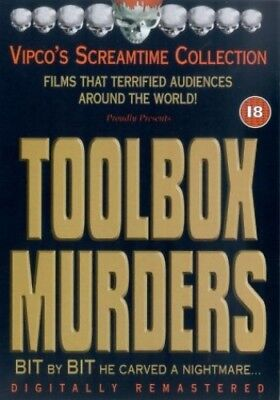 The Toolbox Murders [DVD] - DVD  6QLN The Cheap Fast Free Post