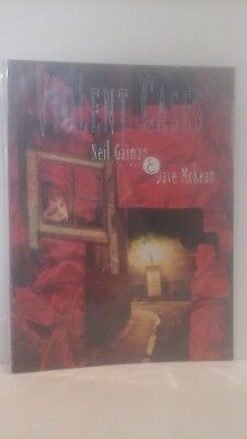 "1998 - ""violent Cases"" - Neil Gaiman & Dave Mckean - A Graphic Novel"
