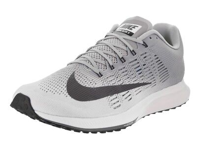release date: 82d1a 863bf MEN,S NIKE AIR Zoom Elite 9 Running Shoes - SZ 13- White Dark Grey- 863769  100