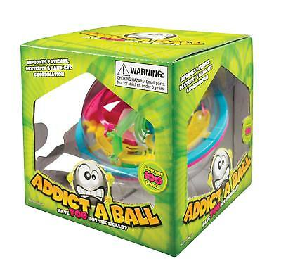 NEW Original Classic ADDICT A BALL MAZE ADDICTABALL 1 - 100 STAGES Puzzle