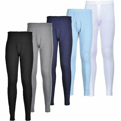 PORTWEST B121 black, grey, navy, sky or white thermal long johns - all sizes