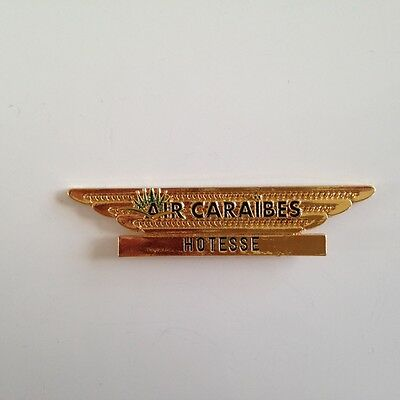 AIR CARAIBES INSIGNE pilote COMPAGNIE AERIENNE- Airline Pilot Wings4