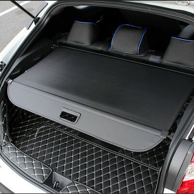 For TOYOTA C-HR 2016-2018 Car Retractable Luggage Cargo Trunk Shade Black Cover