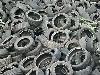 Used Car & Van Tyres, Scrap Only! Can Deliver, Planters, Diy, Part Worn Wheels