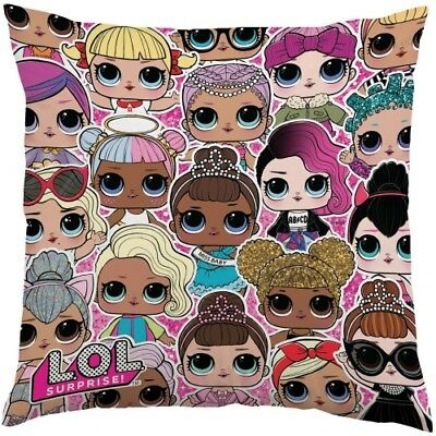 Official L.O.L. Surprise Friends [Reversible]Character Plush Cushions Ideal Gift