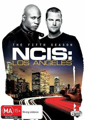 B56 BRAND NEW SEALED NCIS - Los Angeles : Season 5 (DVD, 2014, 6-Disc Set)
