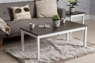 Solid Wood Coffee Table Side Table End Table Nest Nesting Of