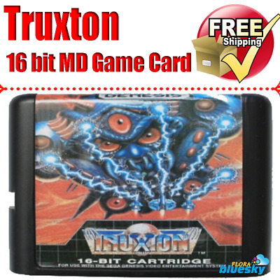Truxton 16 bit MD Game Card For Sega Mega Drive For Genesis