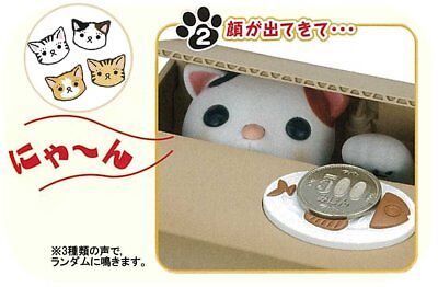 Dragonpad Stealing Coin Cat Piggy Bank - White Kitty For child Cartoon Gift