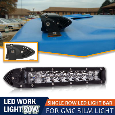 "Single Row 10""Inch Combo Led Work Light Offroad Driving Lights  for Boat Trucks"