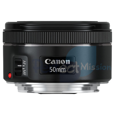 100% New .  Genuine .  Canon EF 50mm f/1.8 STM Lens  + Warranty